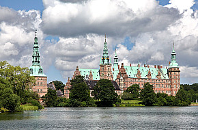 Frederiksborg Palace from the east