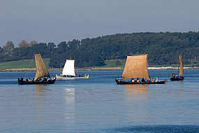 The fjord is often full of viking ships