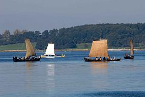 The fjord is often full of viking ships